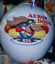 Helium Advertising Balloon - Aero Dogs artwork